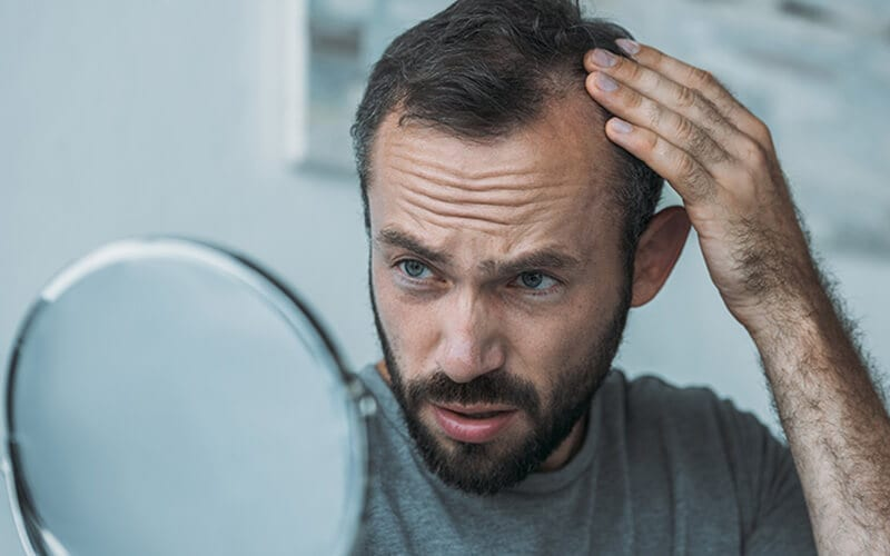 Losing Hair? Check Your Fridge!